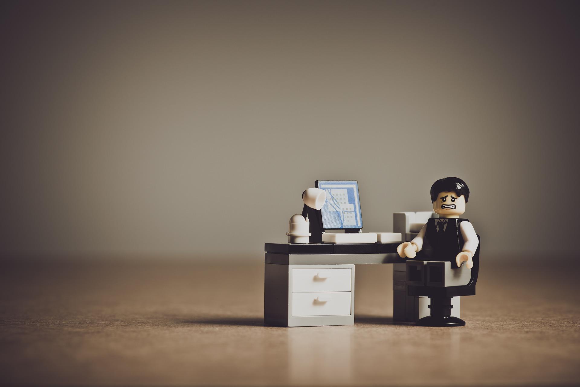 Stress au travail, dépression, détresse psychologique, invalidité