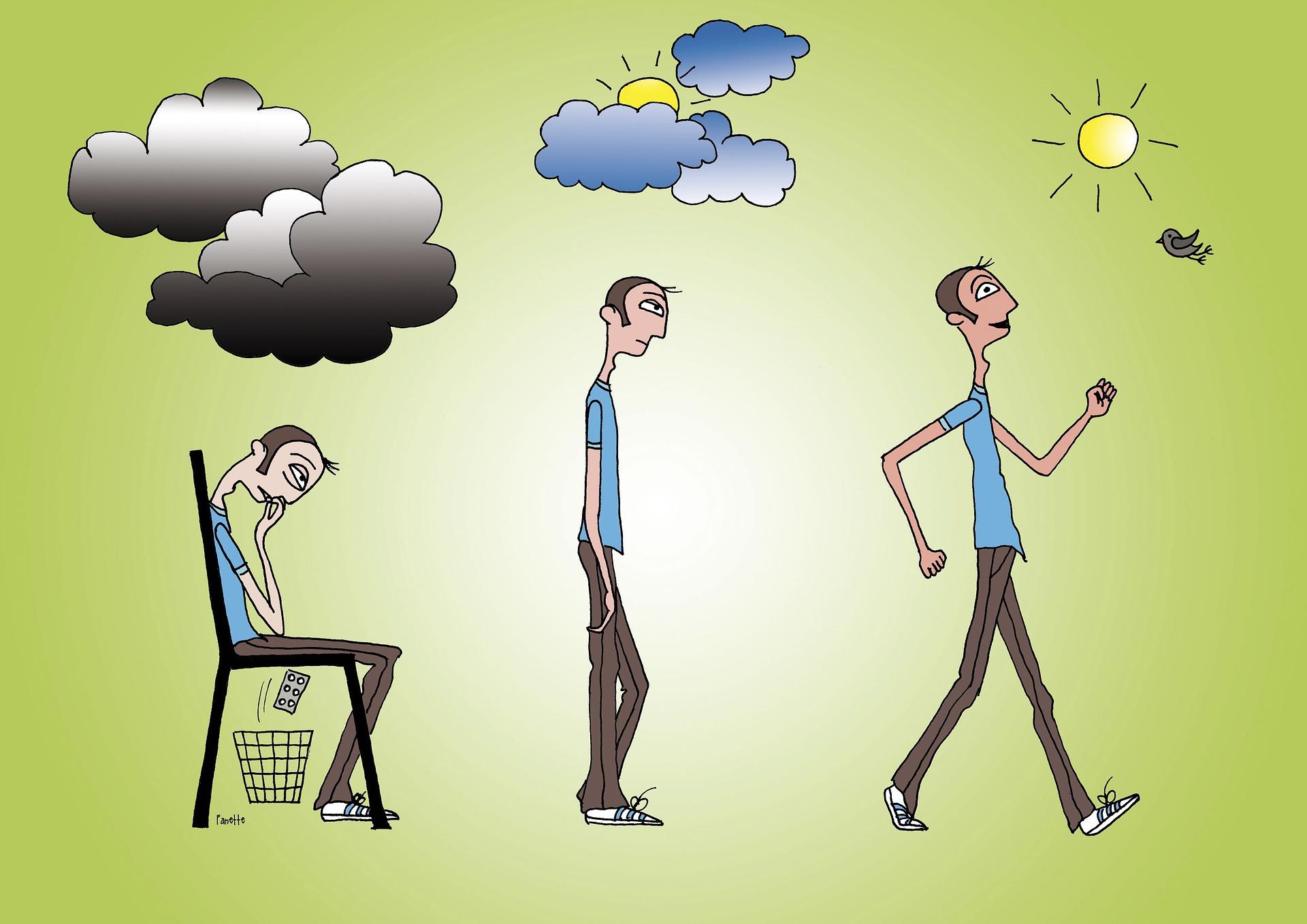 Dépression : Prévenir la rechute, thérapie, méditation pleine conscience