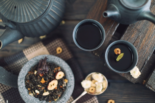 thé cortisol hormones de stress